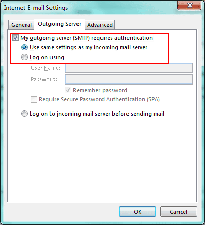 outlook-outgoing-settings