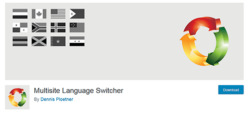 نصب افزونه Multisite Language Switcher