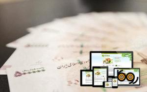 درآمد طراحی سایت